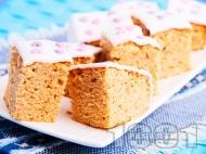 Рецепта Пухкав кекс с фъстъчено масло